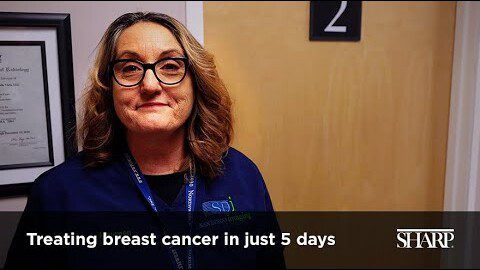 Treating Breast Cancer in 5 Days
