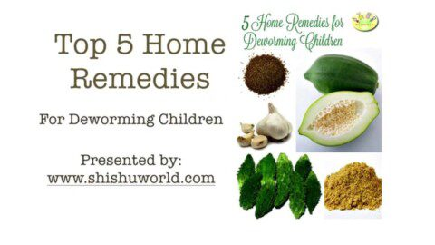Top 5 Natural Remedies to Treat & Prevent worms in children