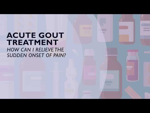 Acute Gout Treatment – How You Can Relieve the Sudden Onset of Pain (5 of 6)